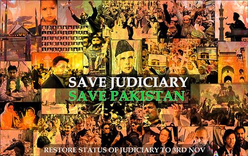 Save Judiciary, Save Pakistan!