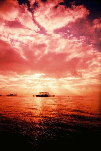 west pier sunrise