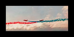 Cross-Over (Elaine 55.) Tags: sky aircraft airshow planes southport redarrows raf supershot anawesomeshot theperfectphotographer