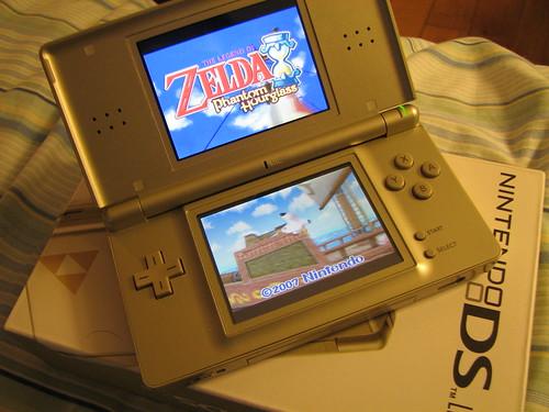 Nintendo DS Lite: Zelda Edition