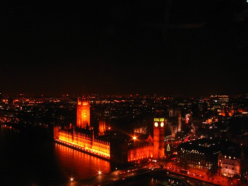 London - Westminster in its glory at night