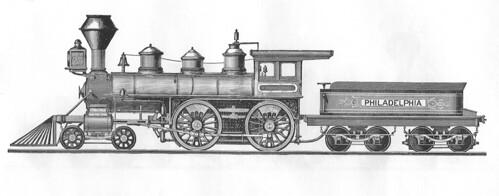Baldwin 4-4-0 1871
