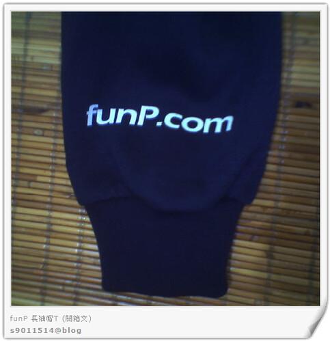 funP長袖帽T-袖子
