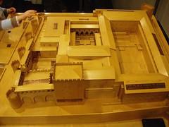 Palacio Aljafera. Maqueta (fernand0) Tags: spain zaragoza palacio maqueta aljaferia aljafera