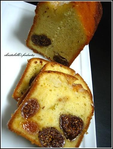 L'etoile季節師傅無花果蛋糕 fig cake