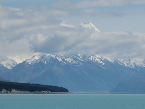 Mt Cook and Lake
