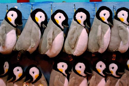 Hanging Penguins