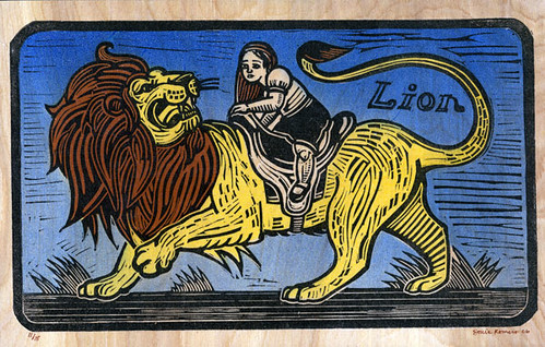 'She Rides the Lion' - SheRidesTheLion.com on Flickr