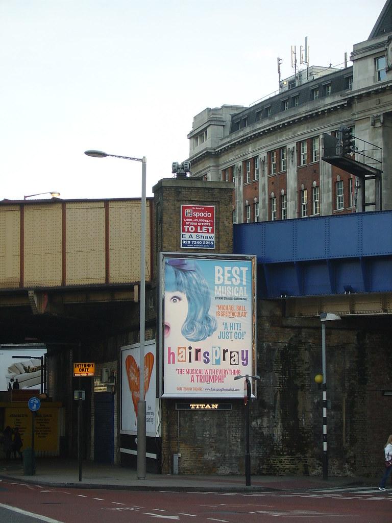 Air raid siren near Waterloo Station