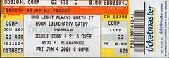 sharkula double door ticket (Sharkula) Tags: street hiphop rap sharkula thig chicag