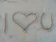 Happy Valentine's Day (Pink Pixel Photography (f.k.a. Sunny)) Tags: love beach strand heart tunisia djerba valentine iloveyou liebe valentinesday tunesien valentinstag iheartyou