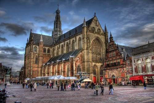 Haarlem Grote Markt by mvwijk.