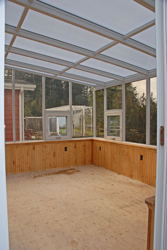 Sunroom construction 15
