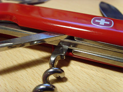 Swiss Army Corkscrew (MacroMint) Tags: macro army swiss knife corkscrew wenger