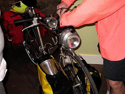 recycled bike lighting