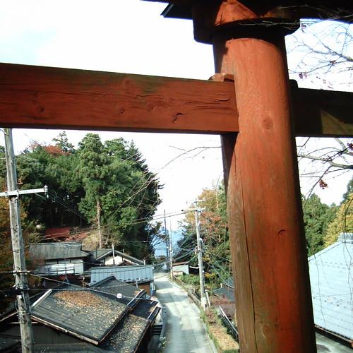 【写真】from Yoshino Mikumari-jinja [ Mt. Yoshino ]
