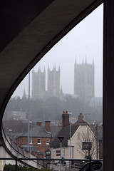 bridged cathedral (jonfholl) Tags: cathedral lincolnshire lincoln min