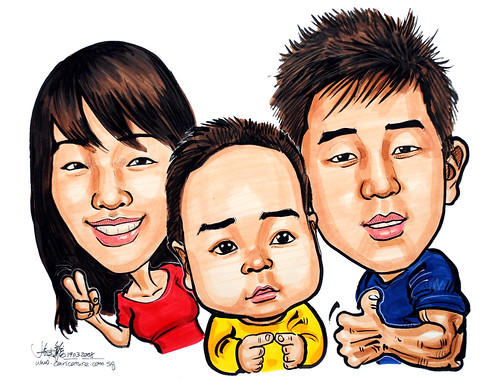 Caricatures family 190308