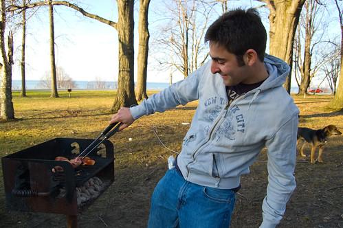 Ben grills
