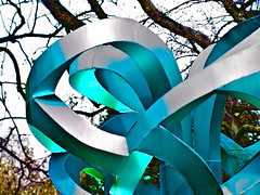 Modern Art (Chris@184) Tags: sculpture art modern canon eos nottinghamshire mansfield lightroom canoneosd60 d60 ruffordpark ruffordabbey sigma70210mmf28apo chris184 chrisbradburycom wwwchrisbradburycom vivitar14xmc