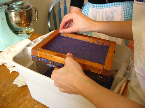 paper making by amazing_podgirl.