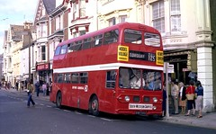 Devon General, Leyland Atlantean, Willowbrook, EOD 528D. (Renown) Tags: bus nbc coach devon torquay willowbrook leyland devongeneral atlantean poppyred pdr1 nationalbusco eod528d