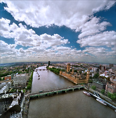 Cloud over the sun (Katarina 2353) Tags: city uk greatbritain bridge sky streets reflection building london film water westminster thames architecture clouds wow river photography coast nikon flickr day cityscape image cloudy unitedkingdom housesofparliament londoneye bigben panoramic katarinastefanovic katarina2353 gettylicence