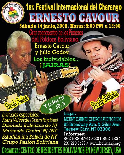 festival_Charango Juio Godoy avec Ernesto Cavour