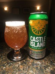 Castle Island - Keeper IPA (brucetopher) Tags: beer craft castleisland keeper ipa newage indiapaleale boston brew ale hops barley water bubbles fresh golden