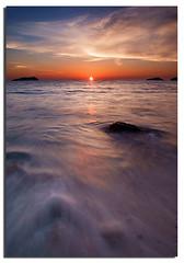 Flow of the waves (Nora Carol) Tags: ocean longexposure sunset waves kotakinabalu bec sabah malaysianphotographer anawesomeshot noracarol sonyalpha200 vosplusbellesphotos sabahanphotographer flowofthenatures landscapephotographerfromsabah womanlandscapephotographer womaninphotography