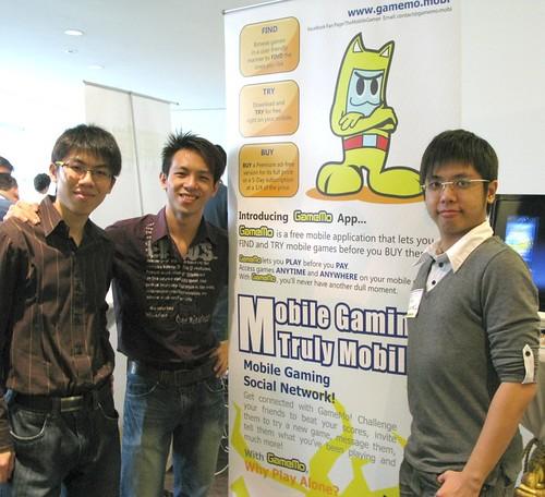 The team from TheMobileGamer.