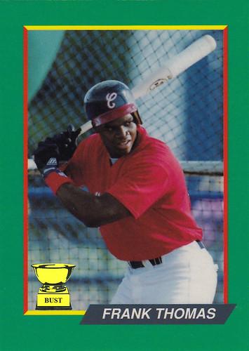 Baseball Card Bust Frank Thomas 1991 Something Or Other