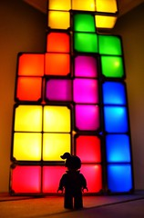 Block vs Brick (Karl Westworth) Tags: light lego gaming tetris minifigures colurs