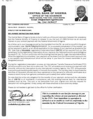 Nigerian Scam FAX - Received Tonight