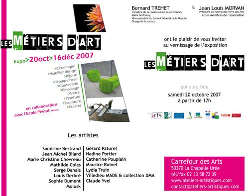 Flyer Carrefour des Arts