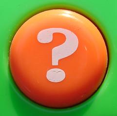 Orange Question Mark Button (jhhwild) Tags: orange mark question button ysplix top20vivid