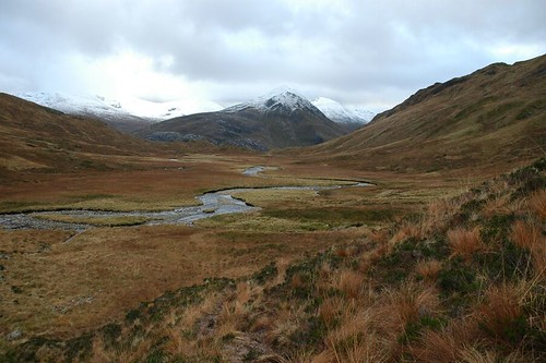 The burn Allt Coire Giubhaschan