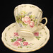 "Royal Vale Bone China ""Floral"" Teacup & Saucer"