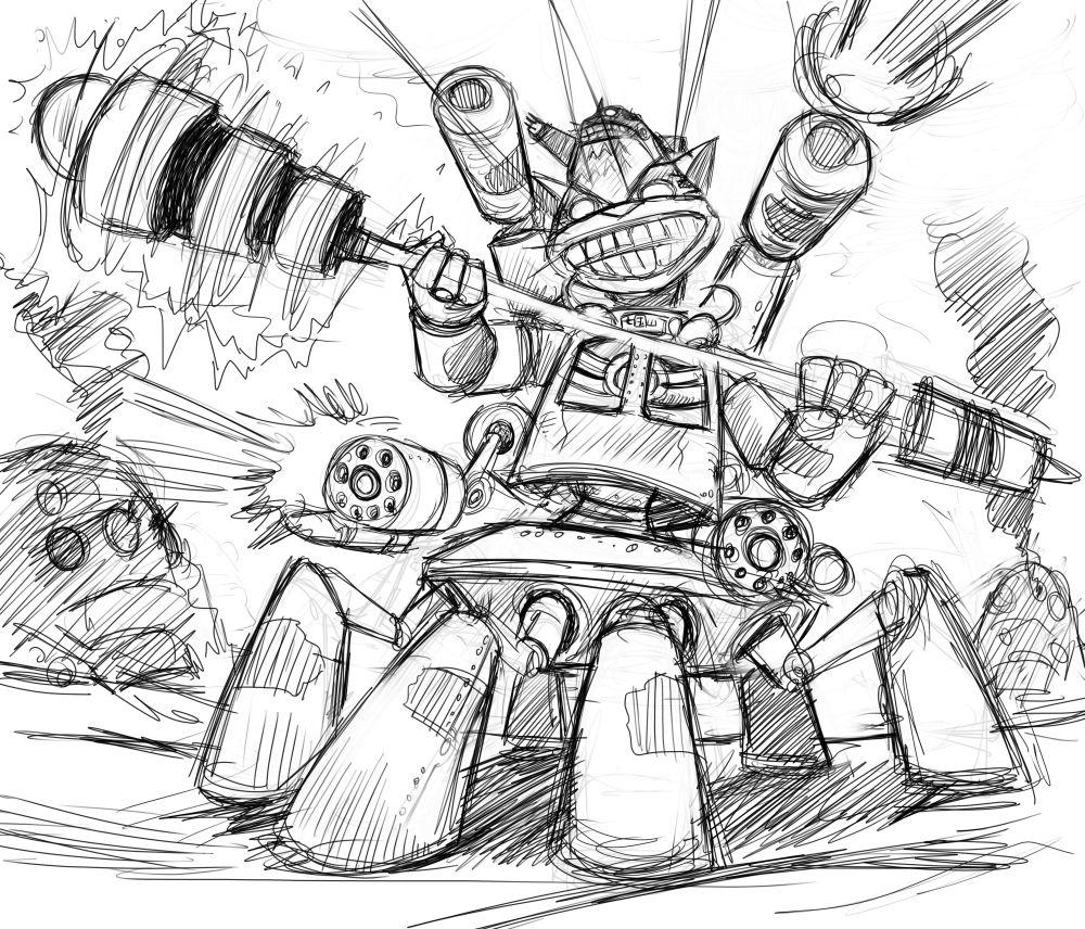 龍貓-重裝備3