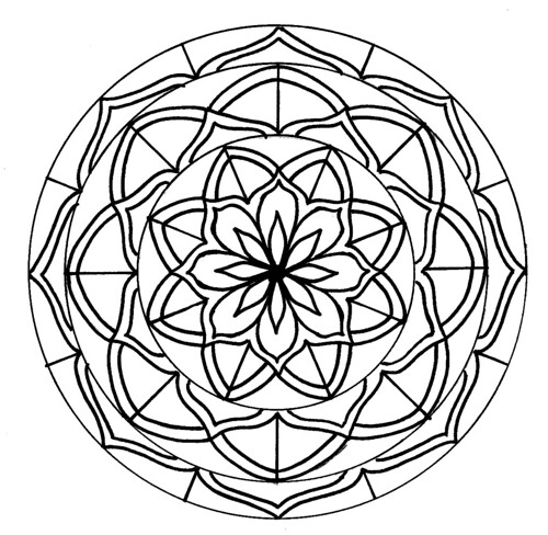 Mandala to Color