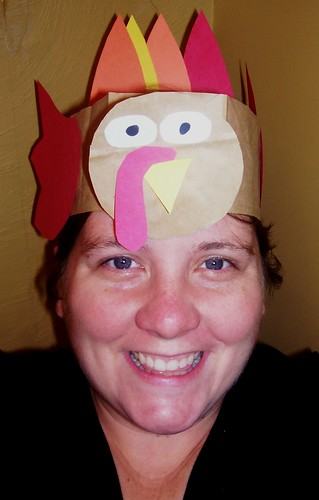 The turkey hat.