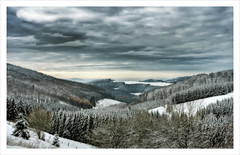 Sauerland (Jrg Dickmann) Tags: schnee trees winter sky snow germany landscape geotagged deutschland landschaft wald bume hdr sauerland winterberg canon1740 3xp singleraw canon400d geo:lat=51185476 geo:lon=8474064