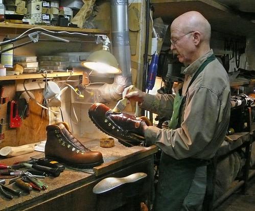 Charlie Van Gorkom custom bootmaker