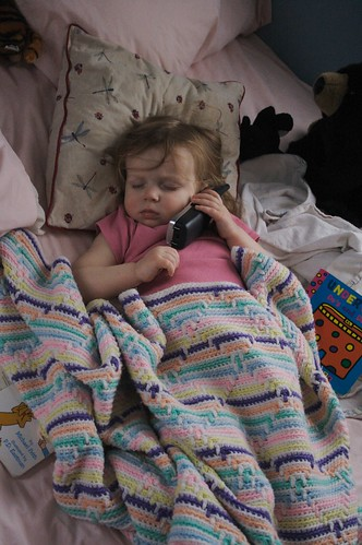 elissa on the phone