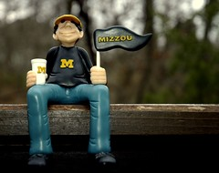 Go Missouri (ricko) Tags: actionfigure fan football mizzou tigers universityofmissouri beatku gameofthecentury