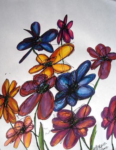 seasonal WILDflowers - no. 3 -