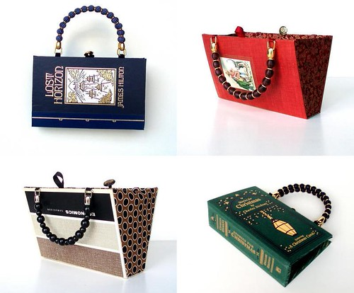 Recycled book bags
