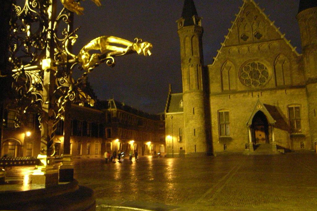Binnenhof by night