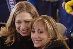Chelsea Clinton & GMU student