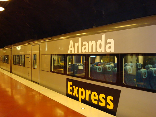 Arlanda Express train (#2)